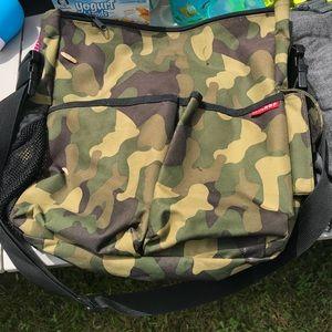 Skiphop MAN BAG! Men's diaper bag